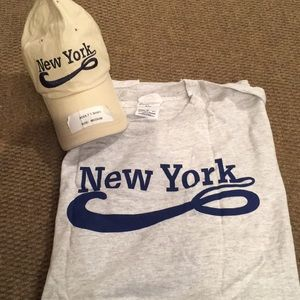 NEW NEW YORK T-Shirt and Baseball Cap
